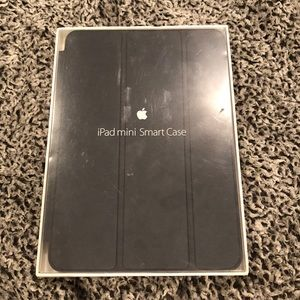 Black ipad mini smart case